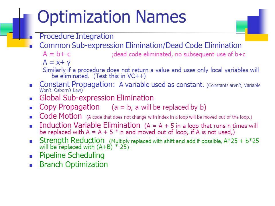 Example (VLIW, 1 Int, 2 FP, 2 LD/ST /CC 5-slots) Mem 1 SlotMem 2 SlotFP 1 SlotFP 2 SlotInt/ Branch L.D F0, 0(R1)L.D F6, -8(R1) L.D F10, -16(R1)L.D F14, -24(R1) L.D F18, -36(R1)L.D F22, -40(R1) ADD.D F4,F0,F2ADD.D F8,F6,F2 L.D F26, -48(R1)ADD.D F12,F10,F2 ADD.D F16,F14,F2 ADD.D F20,F18,F2ADD.D F24,F12,F2 S.D F4, 0(R1)S.D F8, -8(R1) ADD.D F28,F26,F2 S.D F12, -16(R1) S.D F16, -24(R1) DADDUI R1,R1, #-56 S.D F20, 24(R1) S.D F24, 16(R1) S.D F28, 8(R1)BNEQ R1,R2, Loop 1.29cc per element, 23 slots used out of potential 45