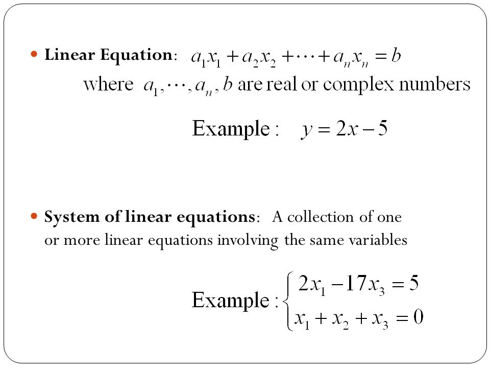 Gauss-Jordan elimination method to solve a system of linear equations Elementary Row Operations Augmented matrixReduced row-echelon form