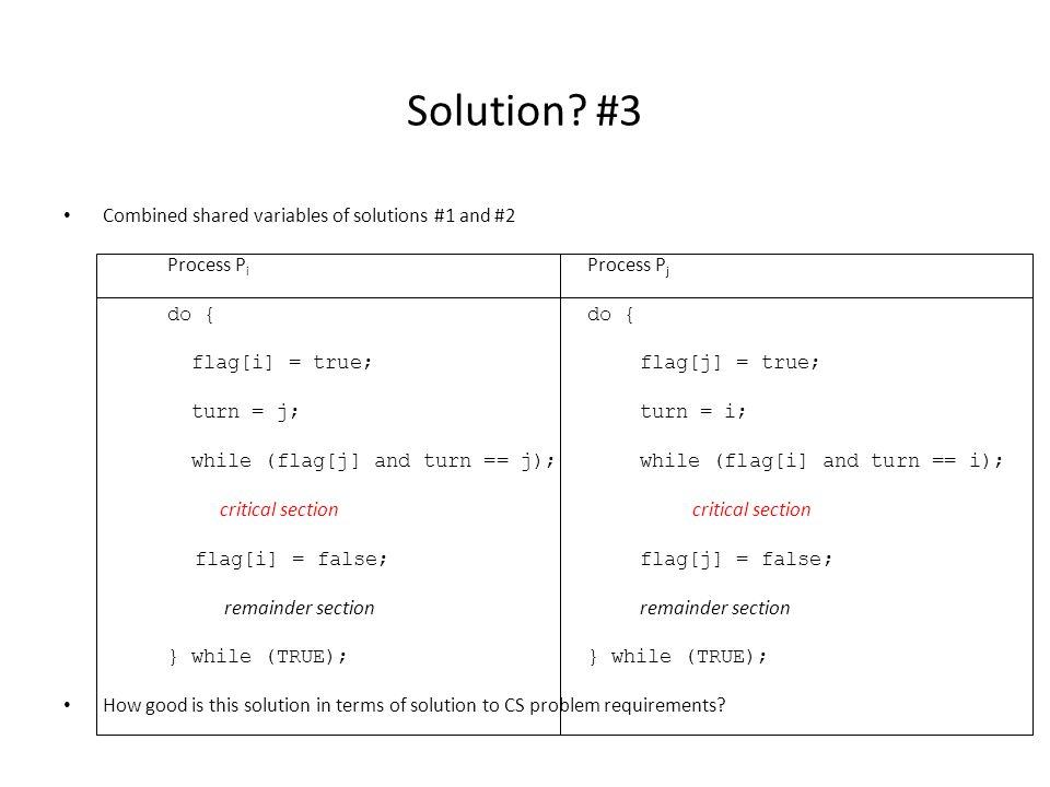 Solution.