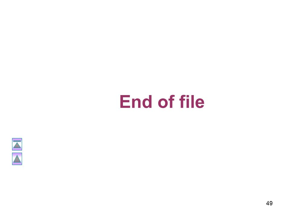 49 End of file