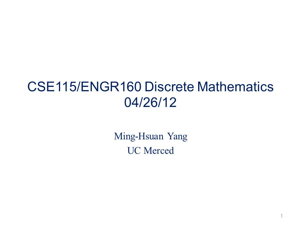 Boolean power (Section 3.8) Let A be a square zero-one matrix and let r be positive integer.