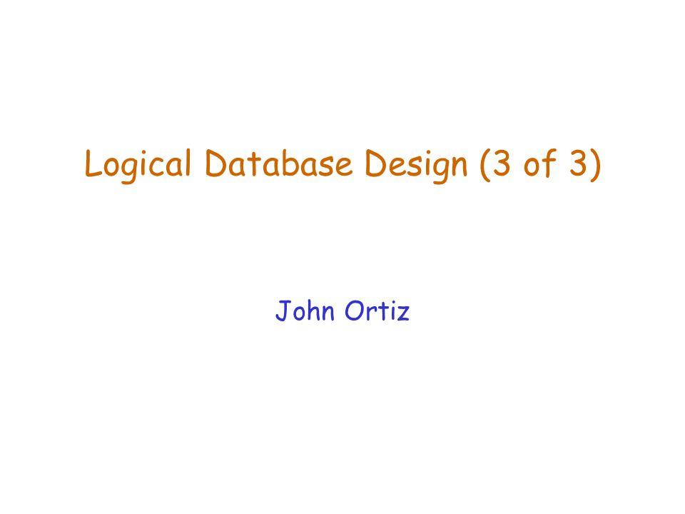 Lecture 7Logical Database Design (2)12 Test for Dependency Preservation Algorithm TestDP Input: A relation schema R, A set of FDs F over R, a decomposition D = {R 1, R 2,..., R n } of R.