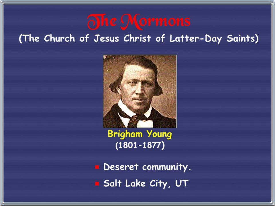 """The Mormon """"Trek"""""""