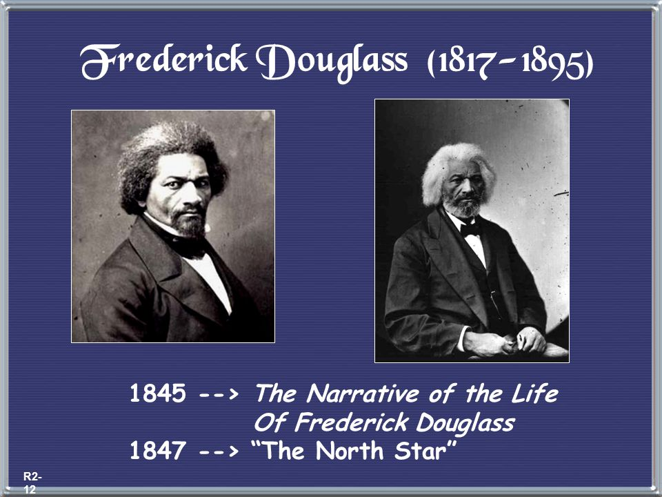 Black Abolitionists David Walker (1785-1830) 1829 --> Appeal to the Coloured Citizens of the World Fight for freedom rather than wait to be set free b