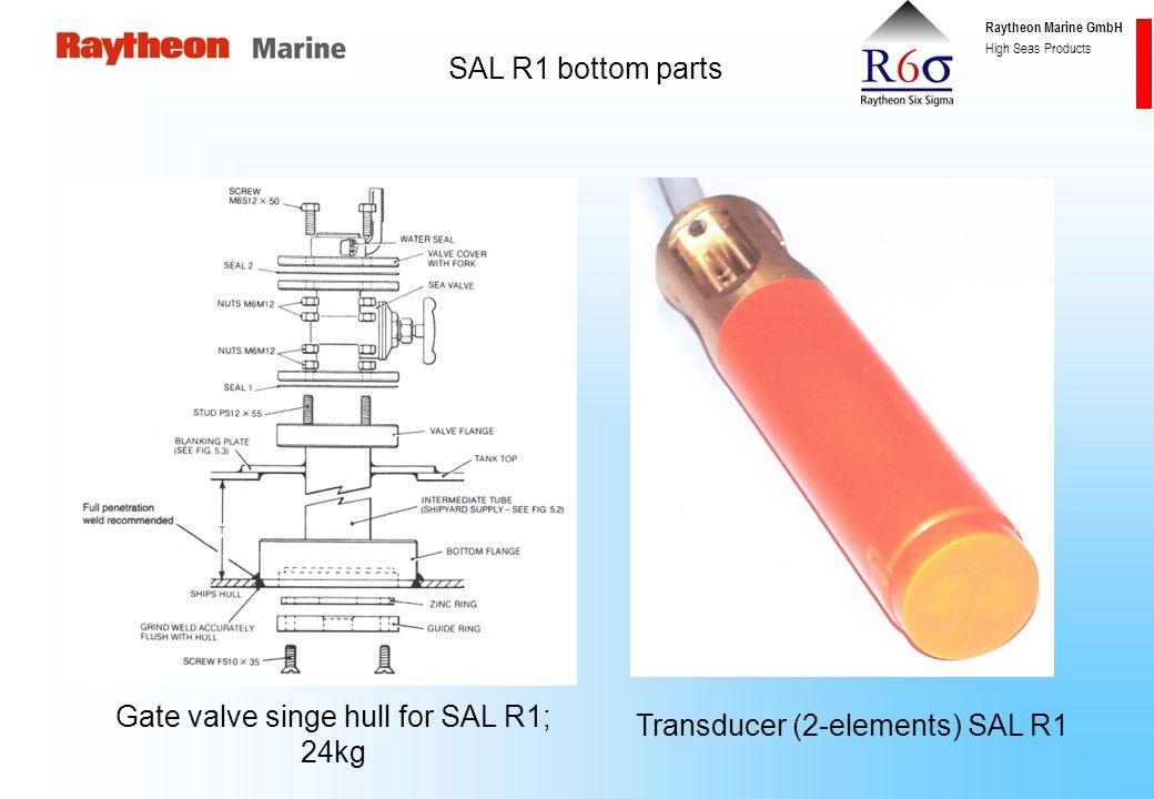 Raytheon Marine GmbH High Seas Products SAL R1 – connection diagram