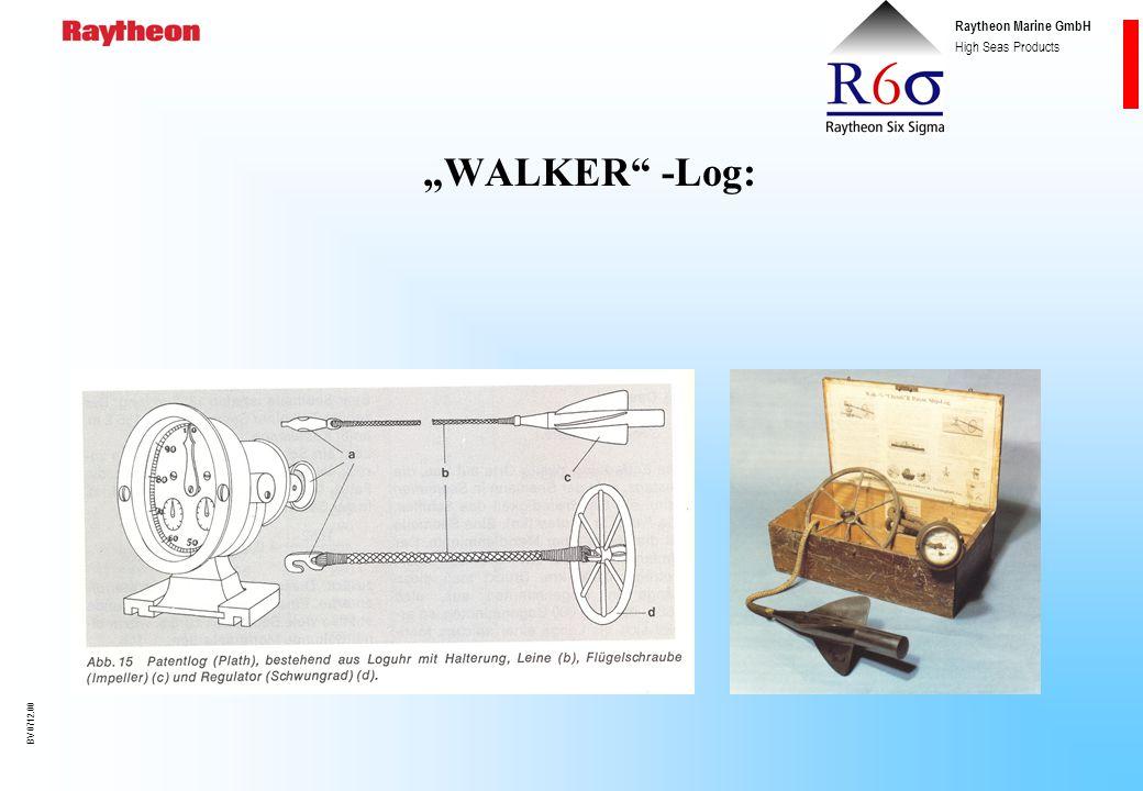 Raytheon Marine GmbH High Seas Products BV 0712.00 1782 Der Engländer JOHN HAMILTON MOORE beschreibt erstmals eine Logge mit nachschleppbarem Holzsche