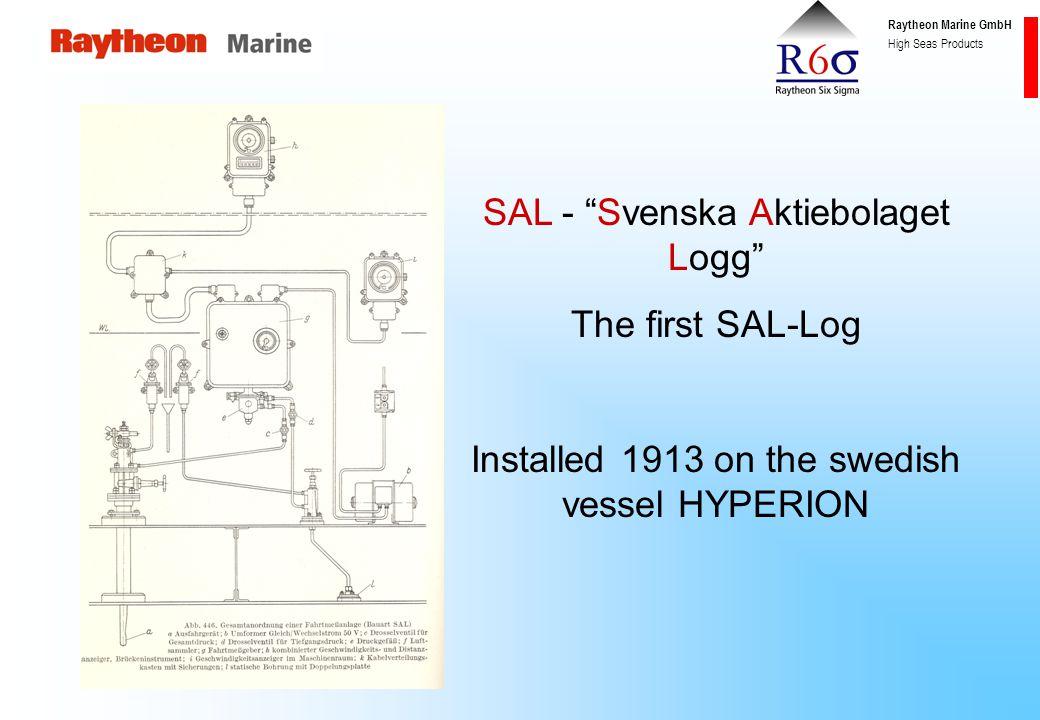 "Raytheon Marine GmbH High Seas Products BV 0712.00 ""WALKER"" -Log:"