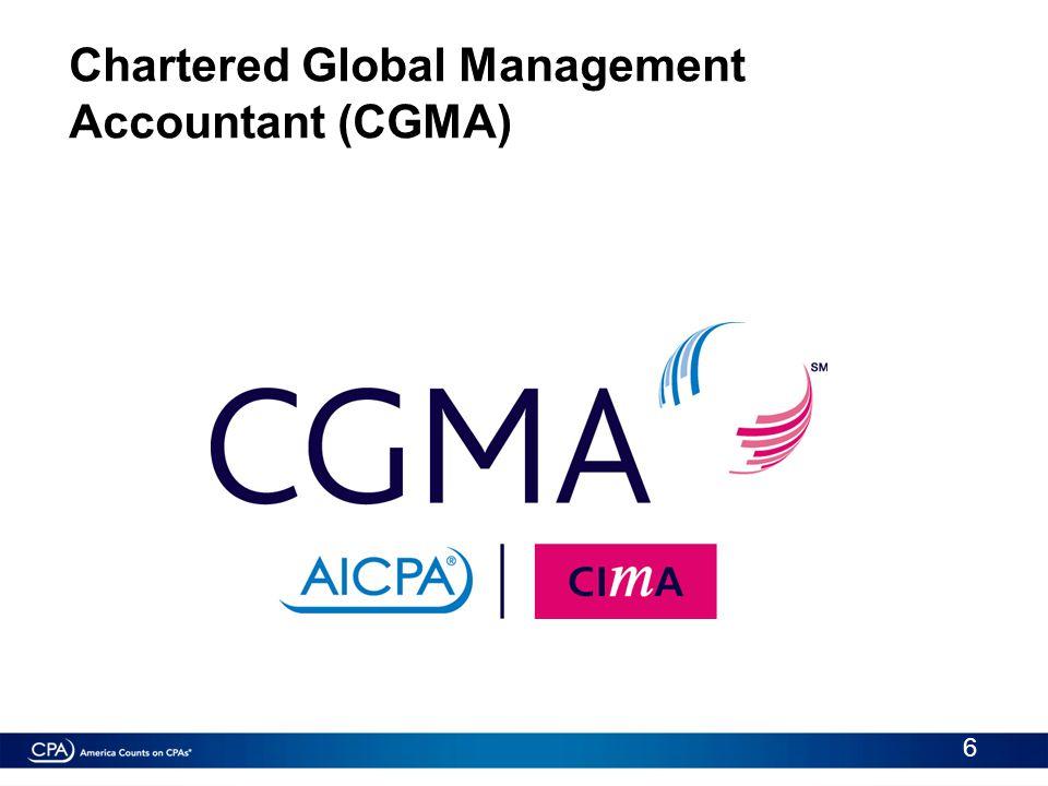 Chartered Global Management Accountant (CGMA) 6