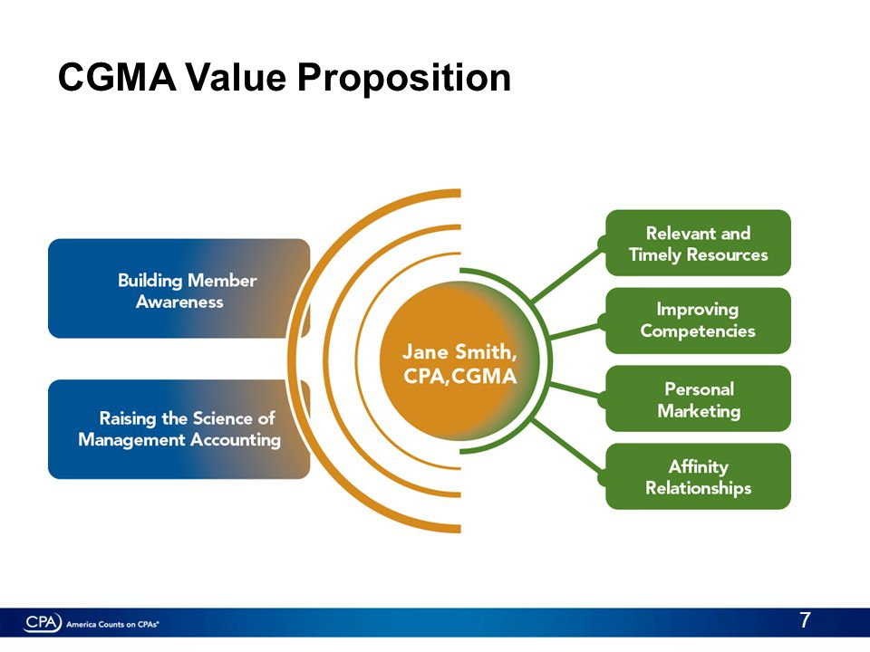 CGMA Value Proposition 7