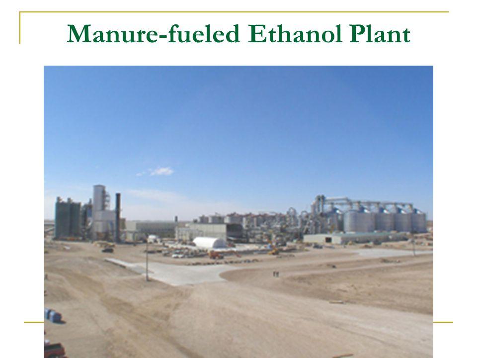 Manure-fueled Ethanol Plant