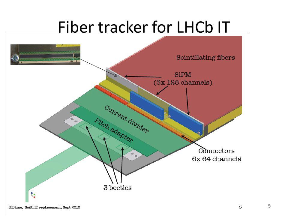 Fiber tracker for LHCb IT 5