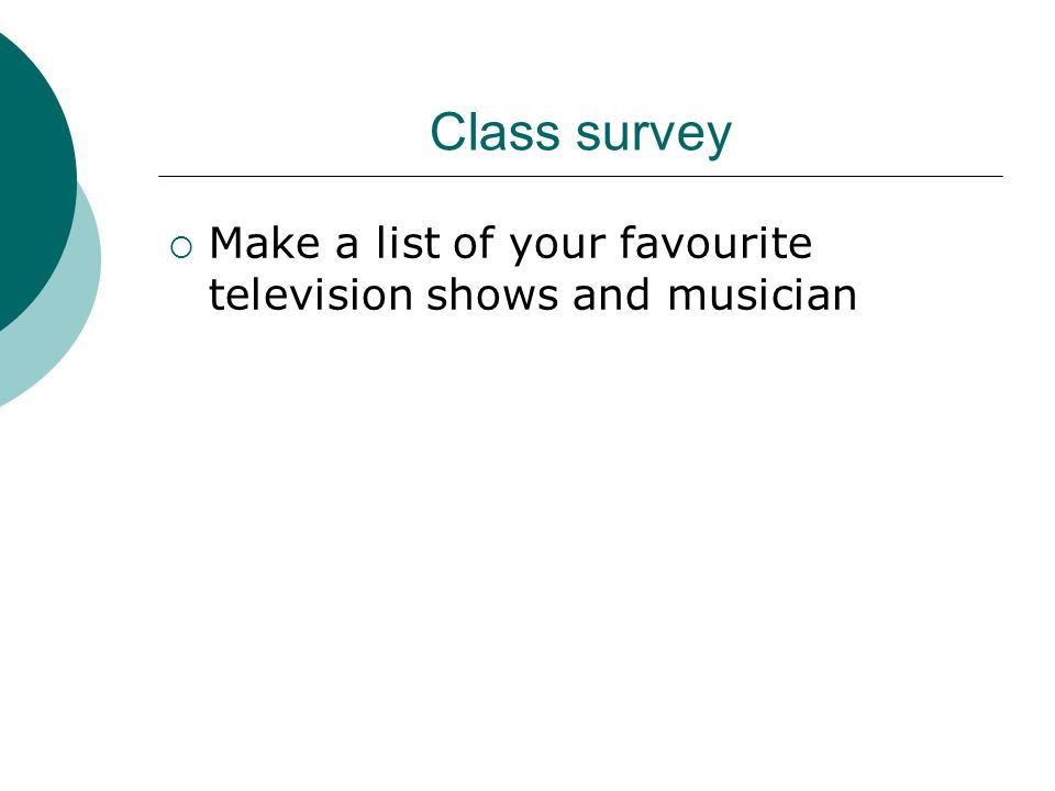 Media Survey If mostly what you watch is not Canadian, how does that affect your Canadian identity.