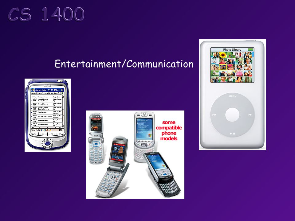 Entertainment/Communication