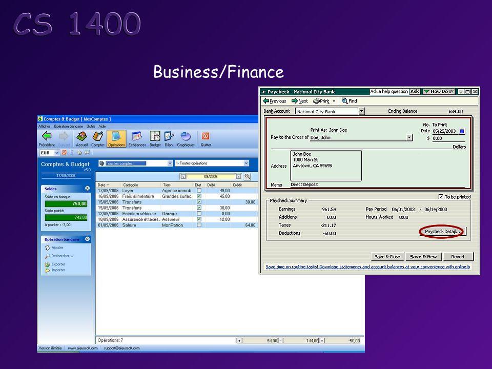 Business/Finance