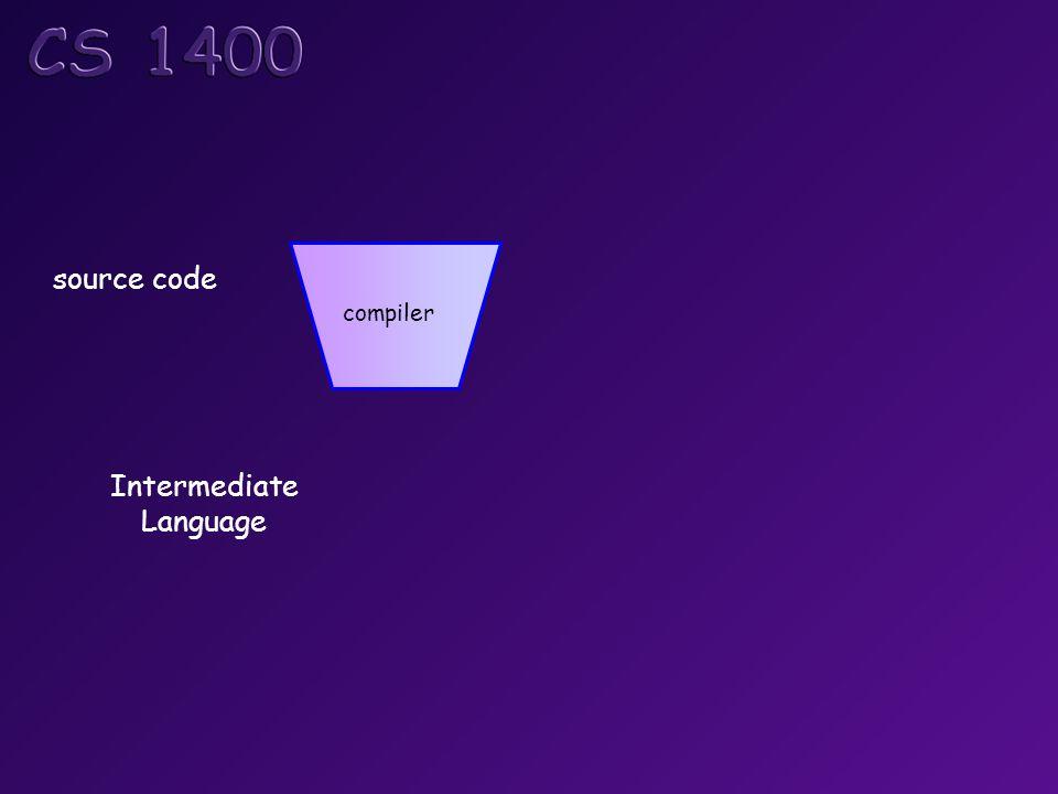        Intermediate Language source code compiler