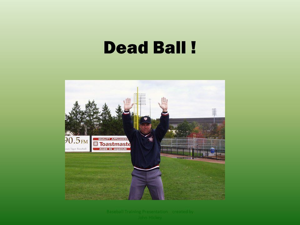 5-1-1 Ball becomes dead immediately when: a) A pitch touched a batter or his clothes even if the batter swings.
