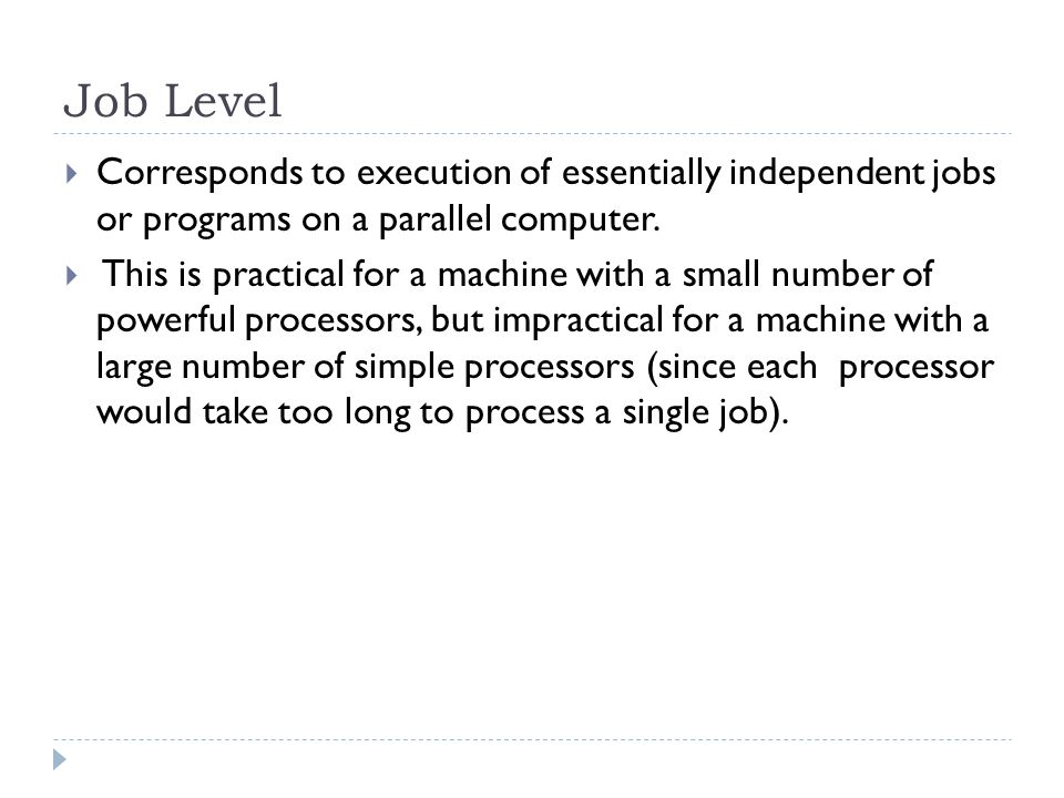 Data dependence  The ordering relationship between statements is indicated by the data dependence.