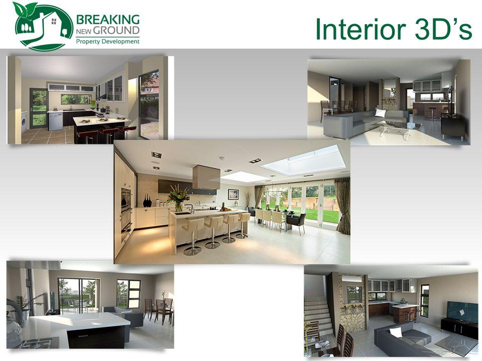 Interior 3D's