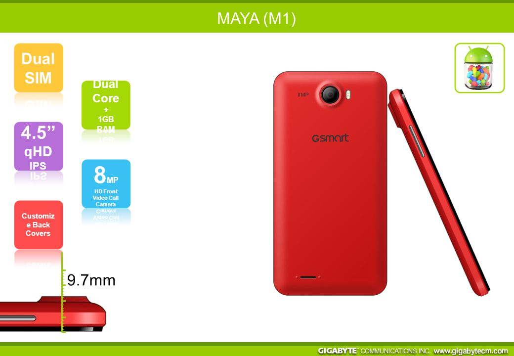 MAYA (M1) 9.7mm