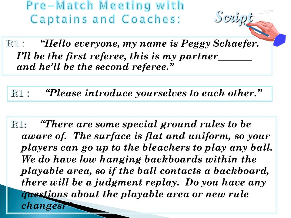 R1 : R1 : Hello everyone, my name is Peggy Schaefer.