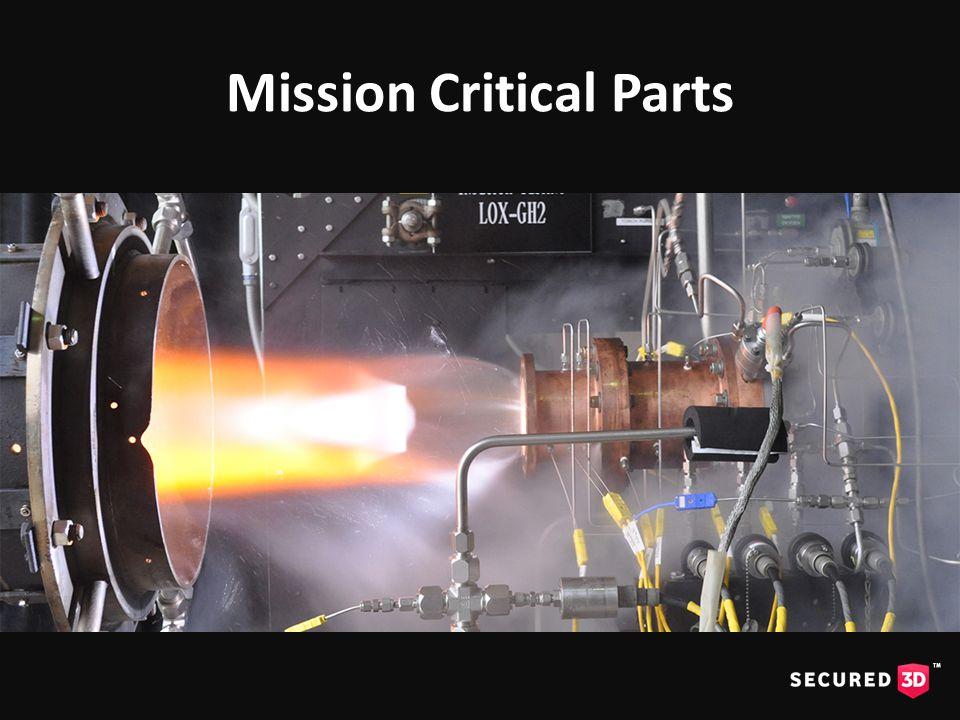 Mission Critical Parts