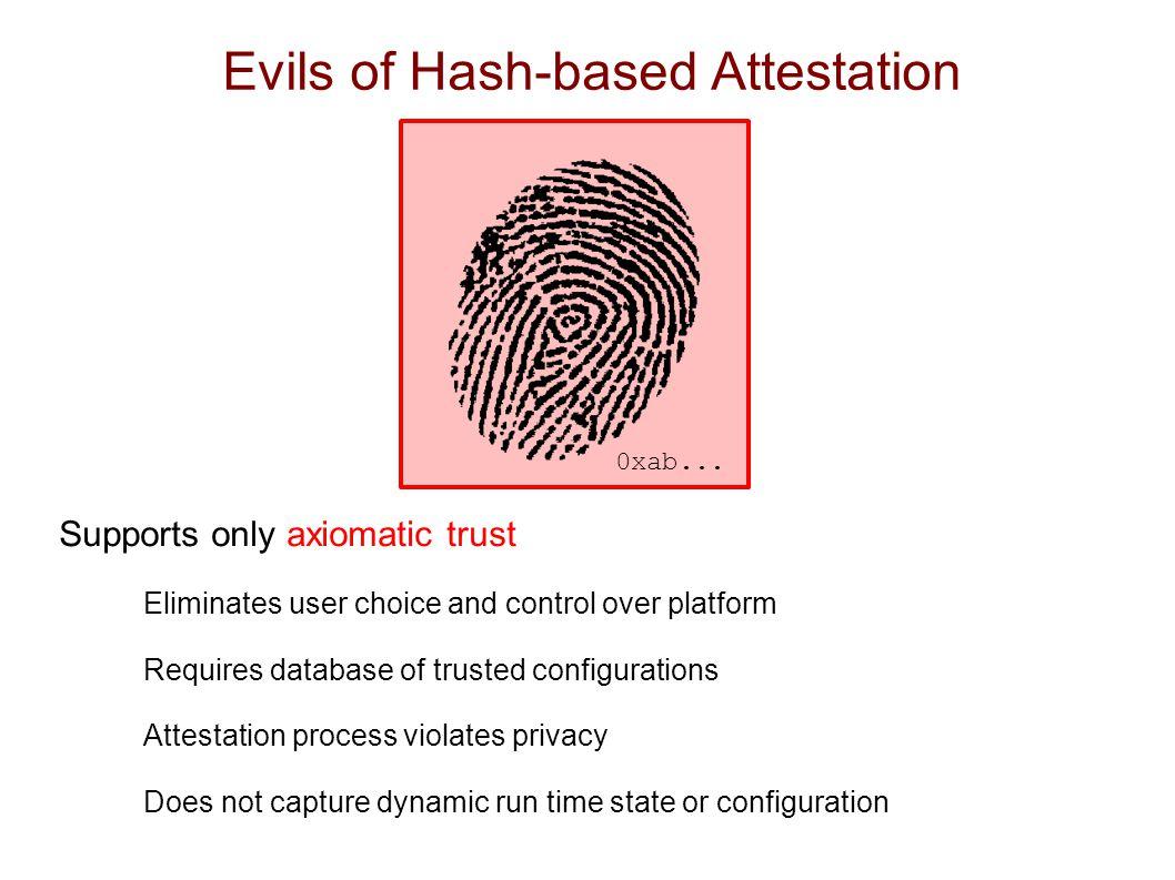 logical attestation nexus applications evaluation
