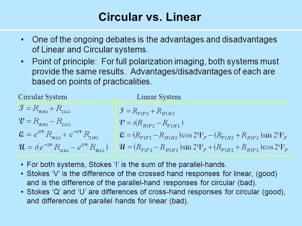 Circular vs.
