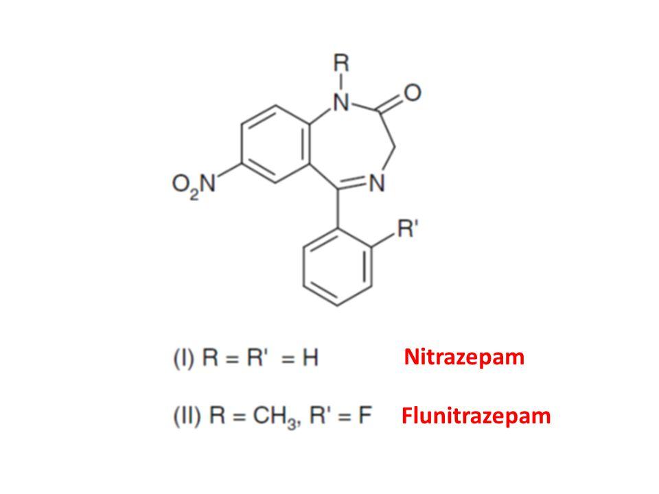 Nitrazepam Flunitrazepam