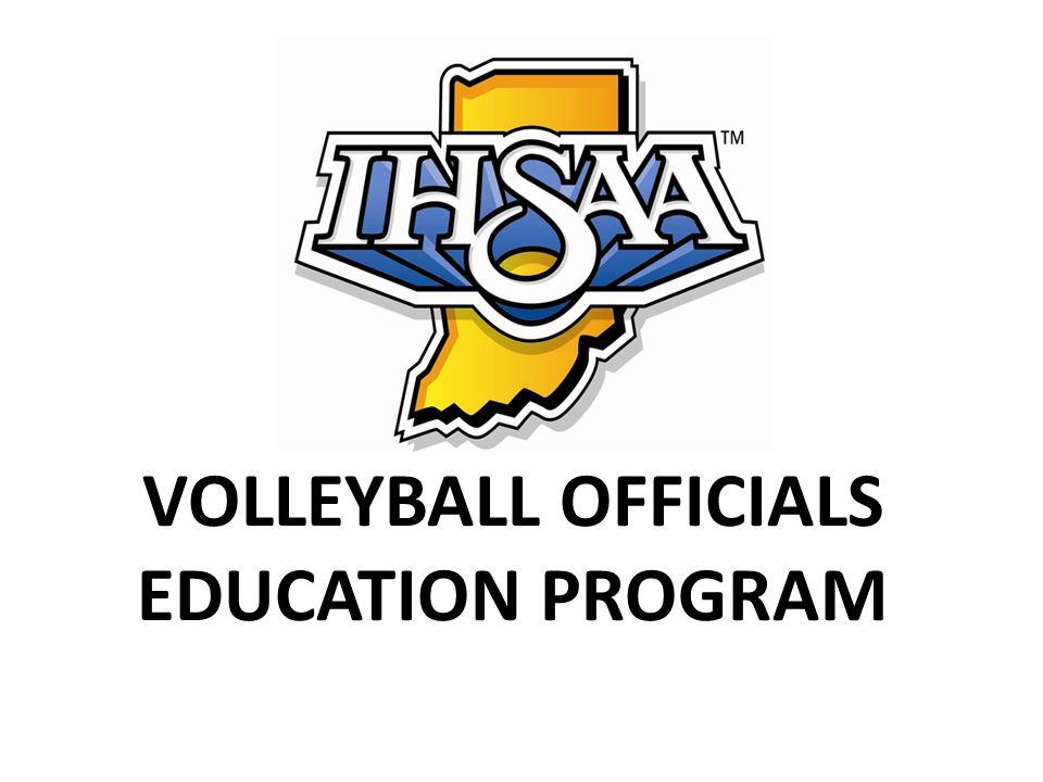 IHSAA Volleyball Rules Line Judge Responsibilities