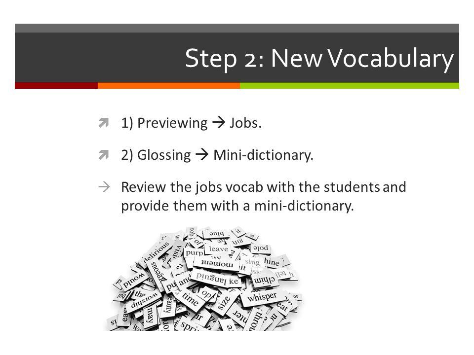 Step 3: Pre-Reading  1) Teacher asks students: Wer von euch studiert und arbeitet.