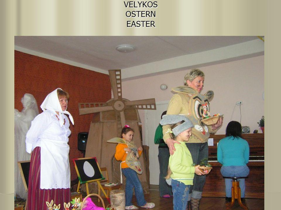 VELYKOS OSTERN EASTER