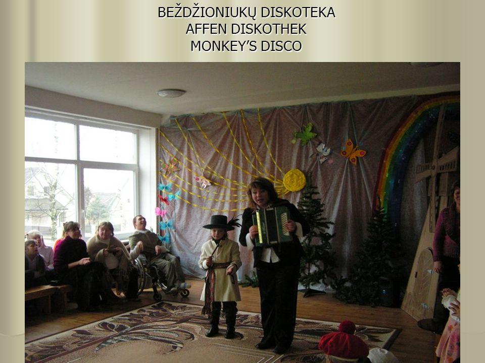 BEŽDŽIONIUKŲ DISKOTEKA AFFEN DISKOTHEK MONKEY'S DISCO