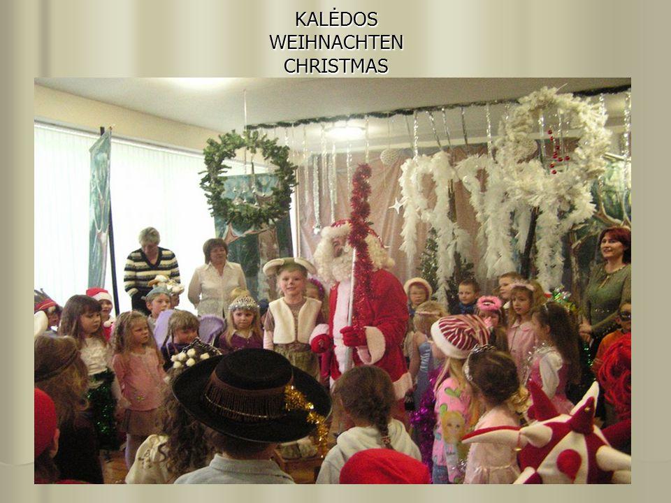 KALĖDOS WEIHNACHTEN CHRISTMAS