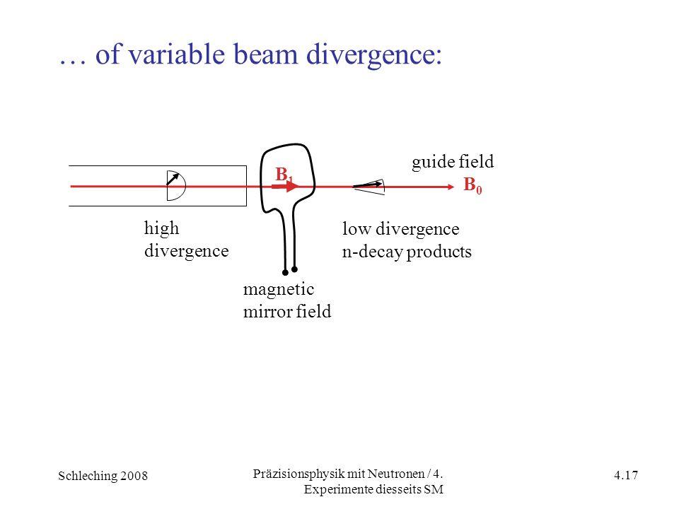 Schleching 2008 4.17 Präzisionsphysik mit Neutronen / 4.