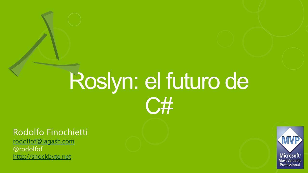Roslyn: el futuro de C#