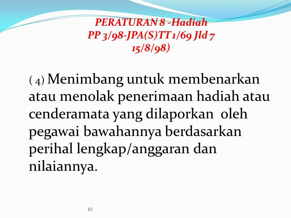 PERATURAN 7-Dadah Memperakukan kes penagih dadah yang disahkan oleh Pegawai Perubatan kerajaan untuk dikenakan tindakan tatatertib / ditamatkan perkhi