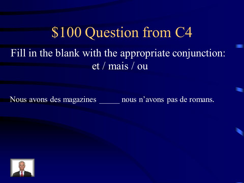 $500 Answer from C3 Caroline travaille ___ école. à l'