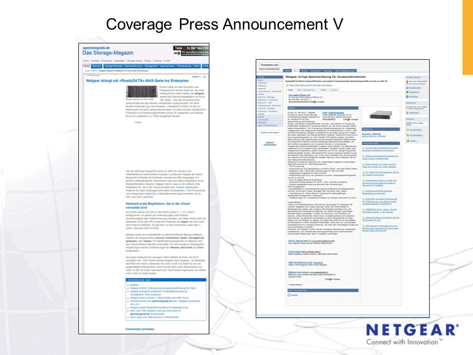 Coverage Press Announcement V