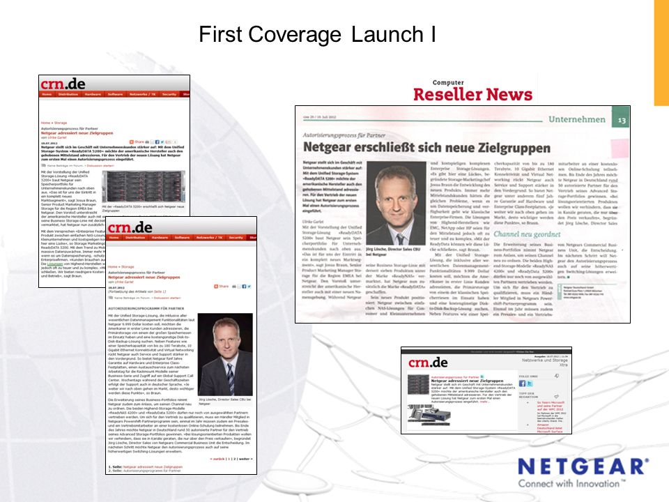 First Coverage Launch I