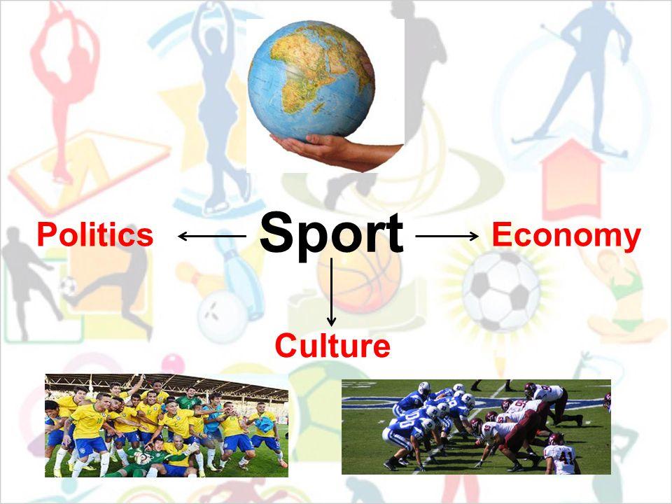 Sport Culture EconomyPolitics