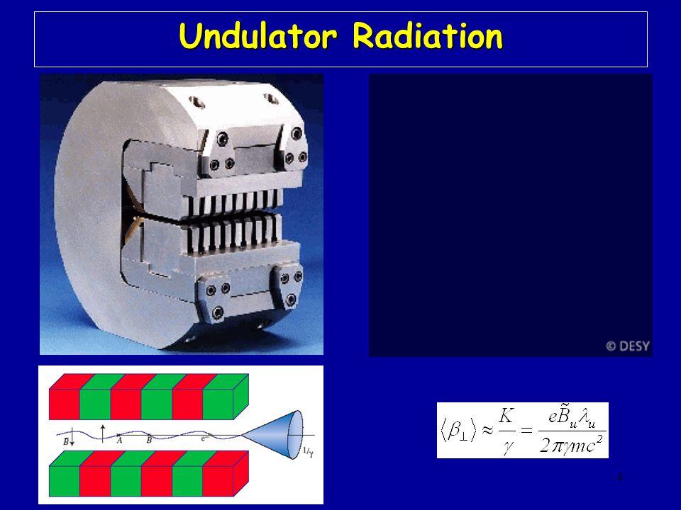4 Undulator Radiation