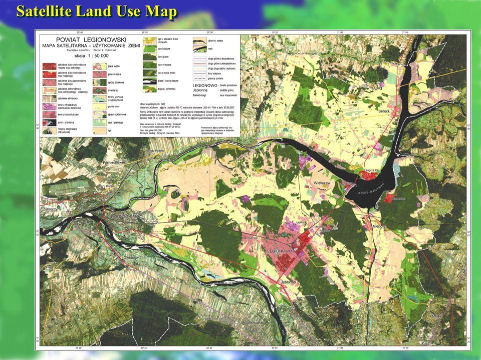 COPAL SEMINAR WARSZAWA 18.01.2008 Satellite Land Use Map