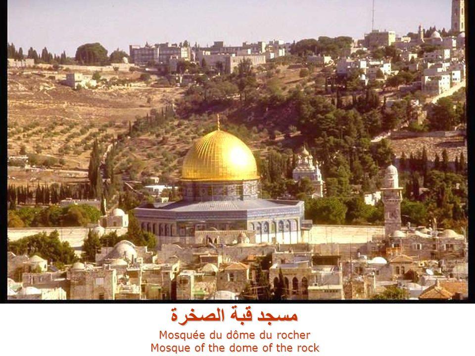 المسجد الأقصى Mosquée Al-Aqsa مسجد قبة الصخرة Mosquée du dôme du rocher