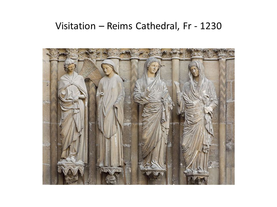 Visitation – Reims Cathedral, Fr - 1230