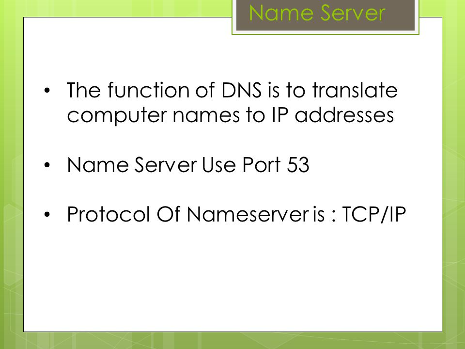 DNS Software Several types of software that implements the DNS, including:  BIND (Berkeley Internet Name Domain) BIND  djbdns (Daniel J.