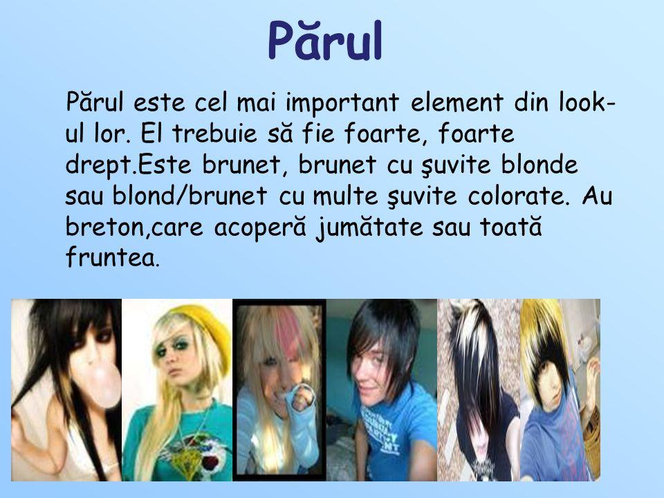 Părul Părul este cel mai important element din look- ul lor.