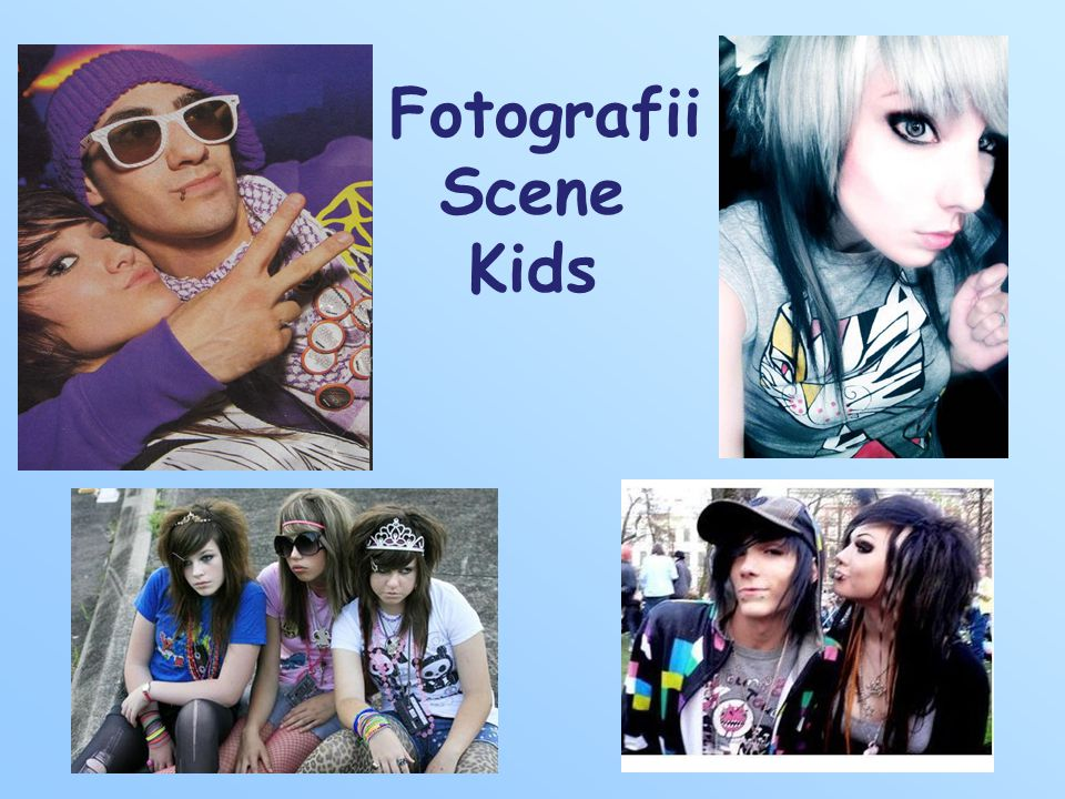 Fotografii Scene Kids