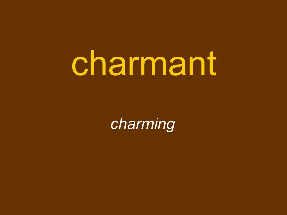 charmant charming