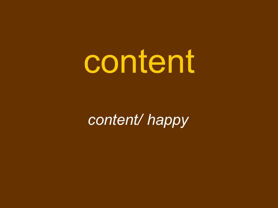 content content/ happy