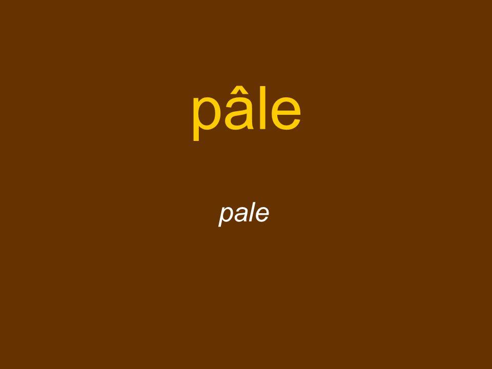 pâle pale